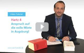 Hartz4 - Anspruch auf volle Miete in Augsburg
